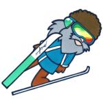 冬将軍 スキージャンプ