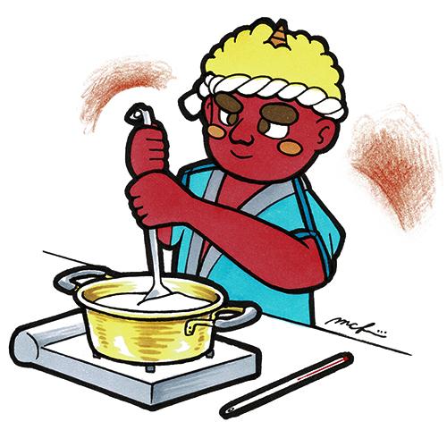 赤鬼の料理