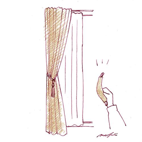 カーテンのタッセル