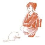 女子高生 ネコ