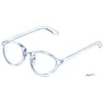 透明なサングラス