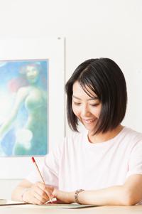 ポートレート_藤井美智子_イラストレーター