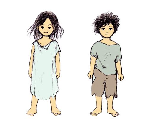 いつか見た夢_少年と少女01