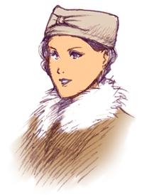 フチなし帽_女性