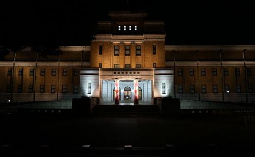 国立科学博物館_科博_夜