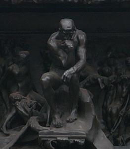 地獄の門_考える人_国立西洋美術館