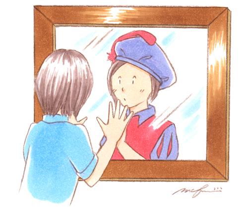 宮廷画家_色鉛筆マーカーイラスト