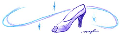 靴_色鉛筆イラスト