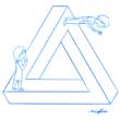 ペンローズの三角形 オマージュ